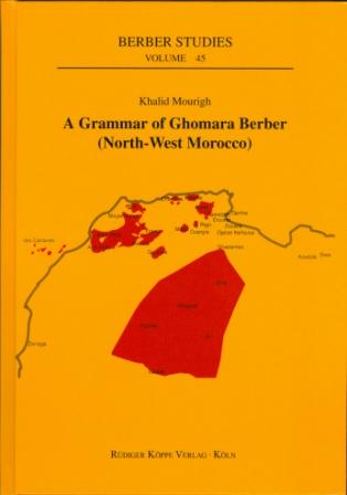 A Grammar of Ghomara Berber (Cover)