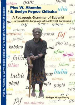 A Pedagogic Grammar of Babanki (Cover)