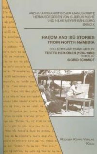 Hai||om and !Xû Stories from North Namibia(Cover)