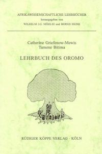 Lehrbuch des Oromo (Cover)