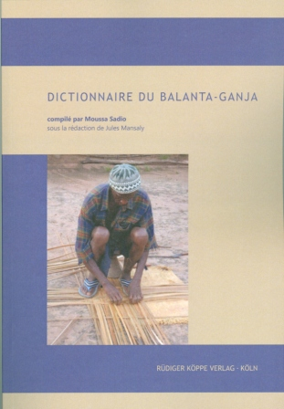 Dictionnaire du balanta-ganja (Cover)