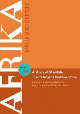 A Study of Mambila (Cover)
