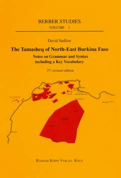 David Sudlow: The Tamasheq of North-East Burkina Faso