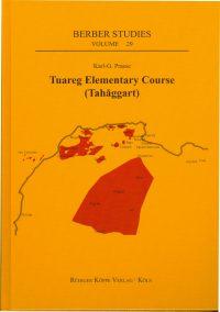 Tuareg Elementary Course (Tahaggart) (Cover)