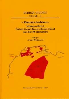 Parcours berbères (Cover)