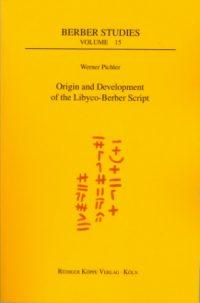 Origin and Development of the Libyco-Berber Script (Cover)