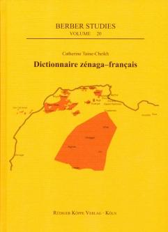 Dictionnaire zénaga-français (Cover)