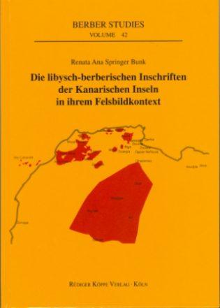 Die libysch-berberischen Inschriften (Cover)