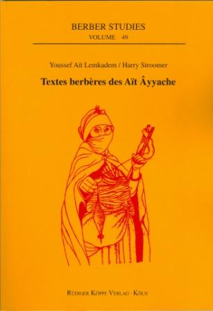 Textes berbères des Aït Âyyache (Cover)