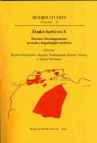 Études berbères X (Cover)