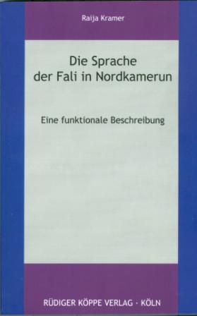 Die Sprache der Fali in Nordkamerun (Cover)