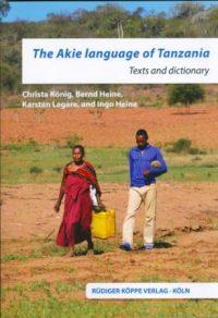 The Akie Language of Tanzania (Cover)