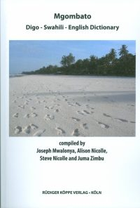 Mgombato – Digo-English-Swahili Dictionary (Cover)