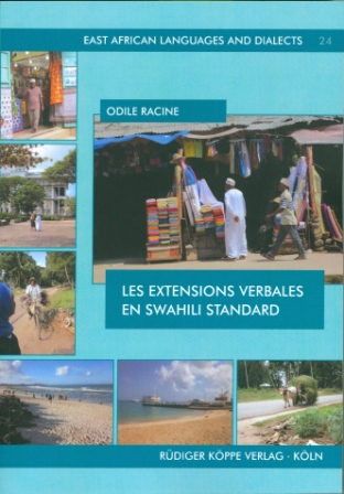 Les extensions verbales en swahili standard (Cover)