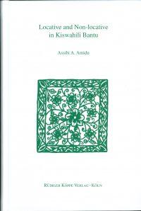 Locative and Non-locative in Kiswahili Bantu (Cover)