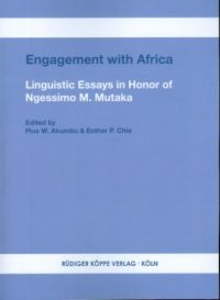 Engagement with Africa (Cover)
