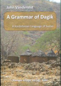 A Grammar of Dagik (Cover)