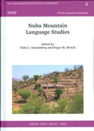 Nuba Mountain Language Studies (cover)