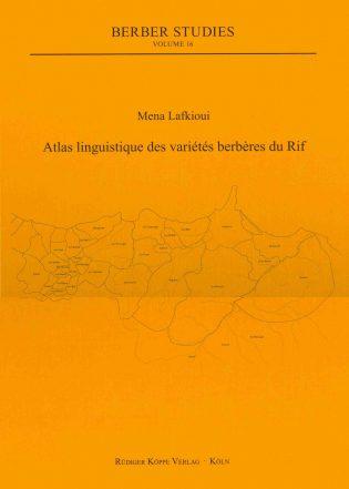 Lafkioui Atlas linguistique (Cover)
