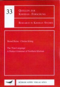 The !Xun Language (cover)