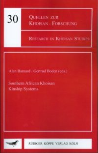 Southern African Khoisan Kinship Systems( Cover)