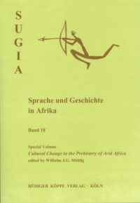 Cultural Change in the Prehistory of Arid Africa (Cover)
