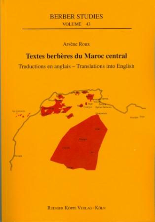 Textes berbères du Maroc central (Cover)