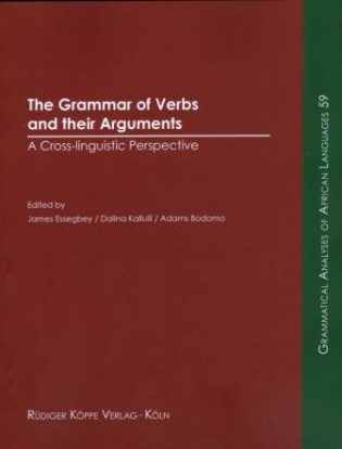 The Grammar of Verbs (Cover)