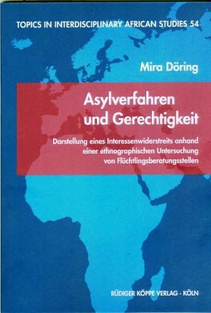 Asylverfahren und Gerechtigkeit(Cover)