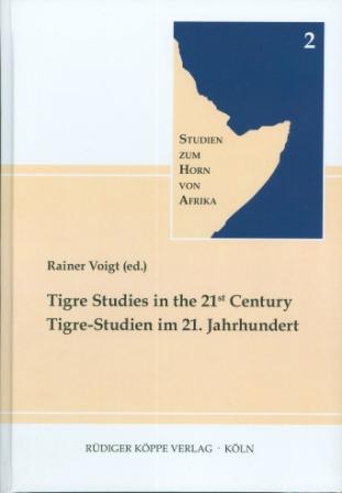 Tigre Studies in the 21st Century (Cover)