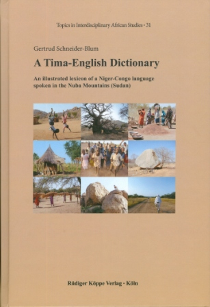 A Tima-English Dictionary (Cover)