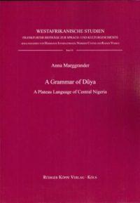 A Grammar of Dũya (Cover)