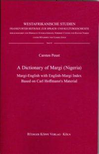 A Dictionary of Margi  (Cover)