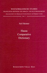 Hausa Comparative Dictionary (Cover)