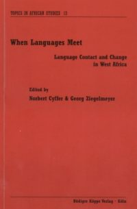 When languages meet (cover)