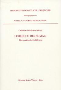 Lehrbuch des Somali (Cover)