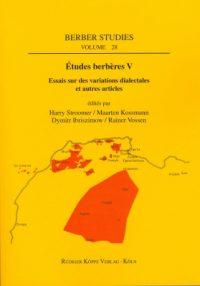Études berbères V (Cover)
