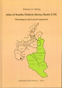 Atlas of Kamba Dialects (Cover)