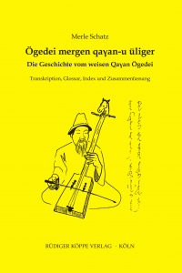 Ögedei mergen qan-u üliger (Cover)