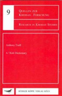 A !Xóõ Dictionary (Cover)