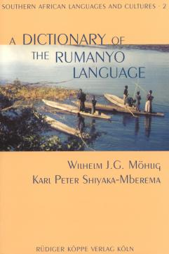 A Dictionary of the Rumanyo Language (Cover)