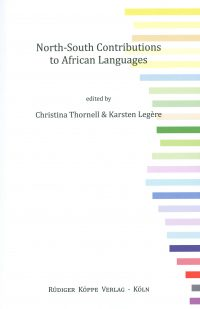 North-South Contributions to African Languages (Cover)