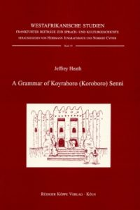 A Grammar of Koyraboro (Koroboro) Senni (Cover)