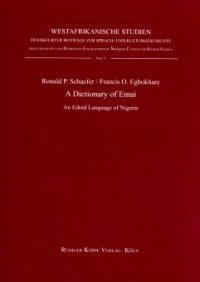 A Dictionary of Emai (Cover)
